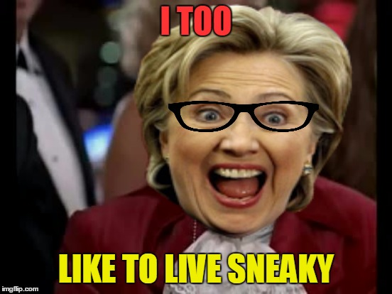 I TOO LIKE TO LIVE SNEAKY | made w/ Imgflip meme maker