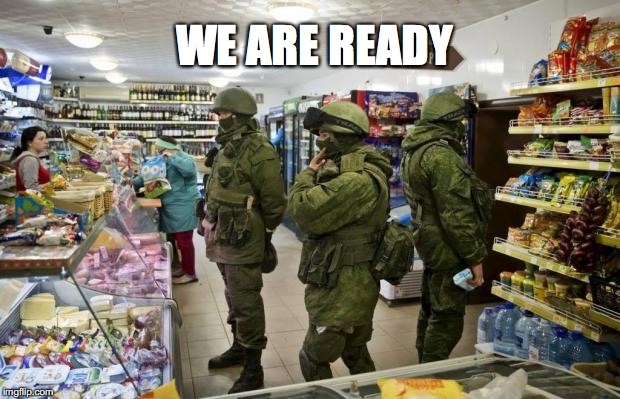 WE ARE READY | made w/ Imgflip meme maker