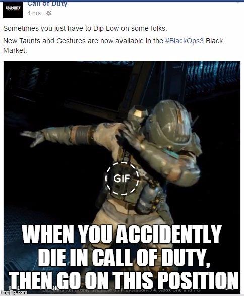 Call Of Duty Dab Meme Generator Imgflip