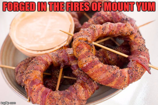 FORGED IN THE FIRES OF MOUNT YUM | made w/ Imgflip meme maker