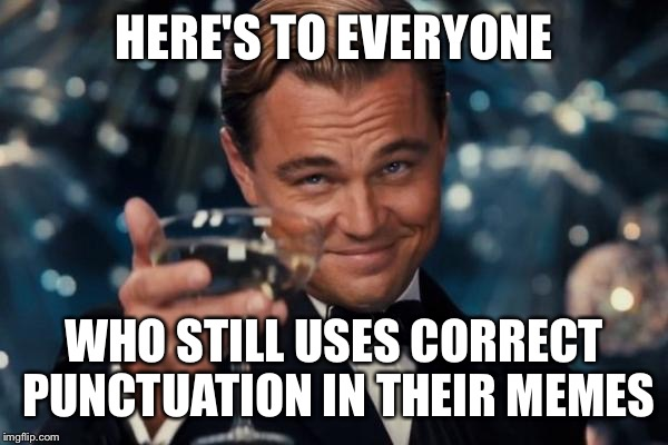 Funny Memes For Punctuation : Punctuation meme images saves lives