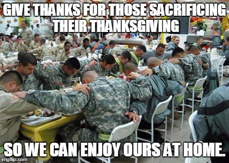 1er2o0 thanksgiving imgflip,Military Thanksgiving Meme