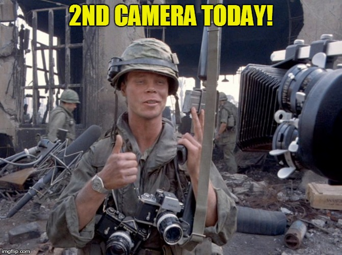 2ND CAMERA TODAY! | made w/ Imgflip meme maker