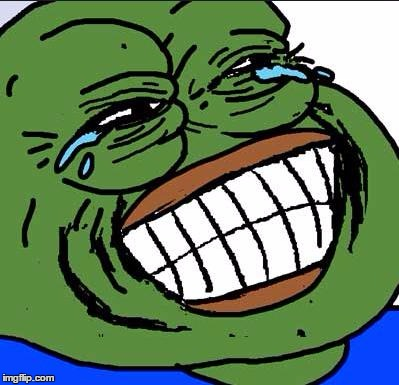 Image result for pepe laughing meme
