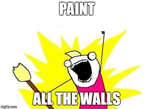 Painting Walls Meme