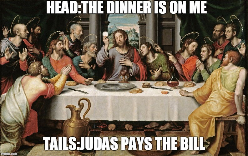 1ey9ju last supper jesus meme generator imgflip