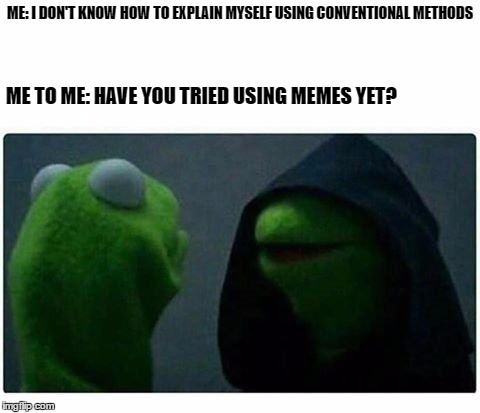 1ez7xd legit evil kermit meme generator imgflip,Evil Kermit Meme Maker