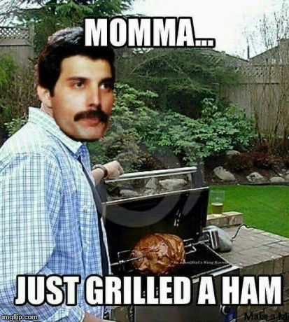 This can't be real life  | . | image tagged in bohemian rhapsody,queen,freddie mercury,memes | made w/ Imgflip meme maker