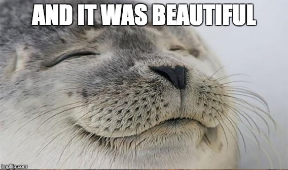AND IT WAS BEAUTIFUL | made w/ Imgflip meme maker