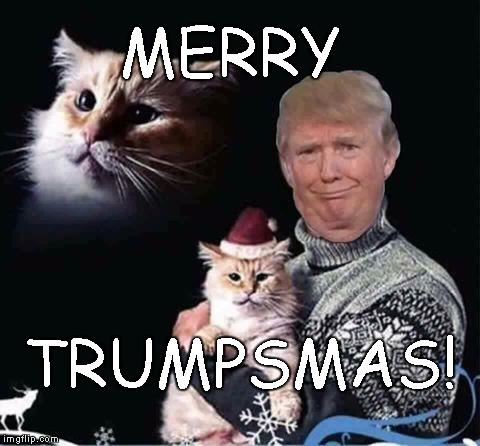 1f00sc merry trumpsmas imgflip,Trump Christmas Meme