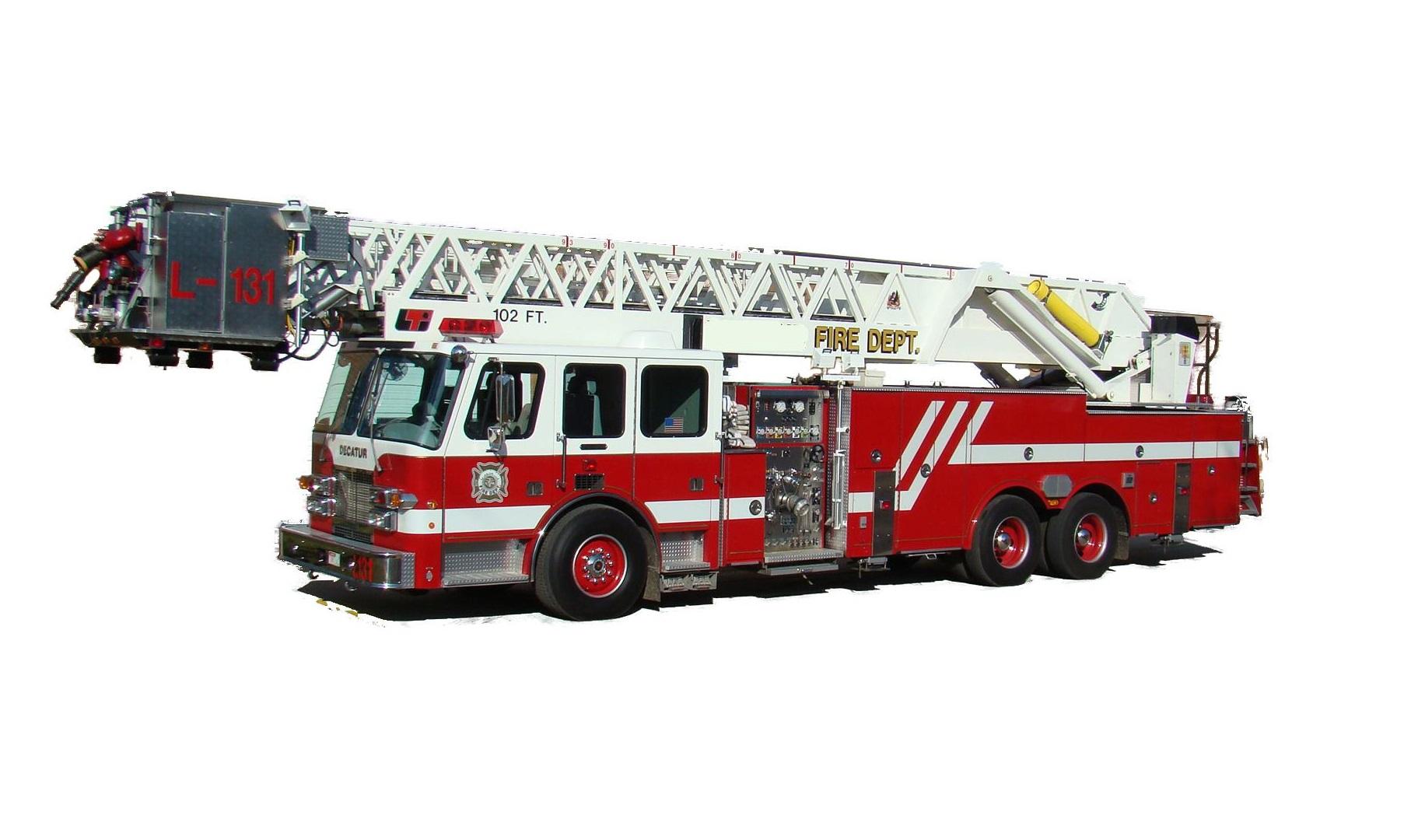 Fire Truck Template