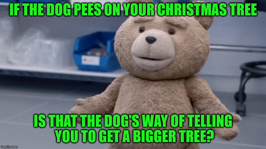 Why Does The Christmas Tree Smell Like Dog Pee? - Imgflip