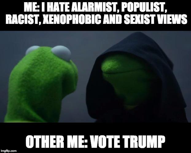 1f1mj6 evil kermit imgflip,Evil Kermit Meme Maker