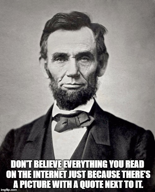 Abraham Lincoln Famous Quotes: Abraham Lincoln