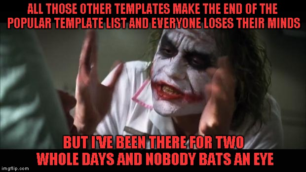 "Just joining the ""Trying to help save The Joker"" movement. 