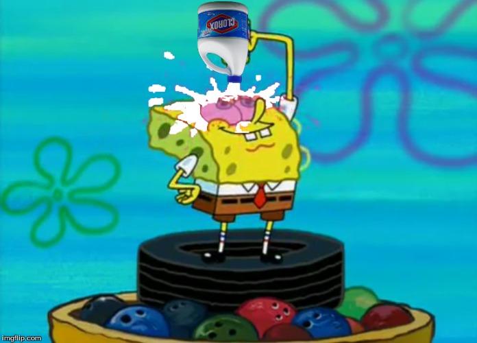 Image Tagged In Spongebobcloroxbleach Imgflip