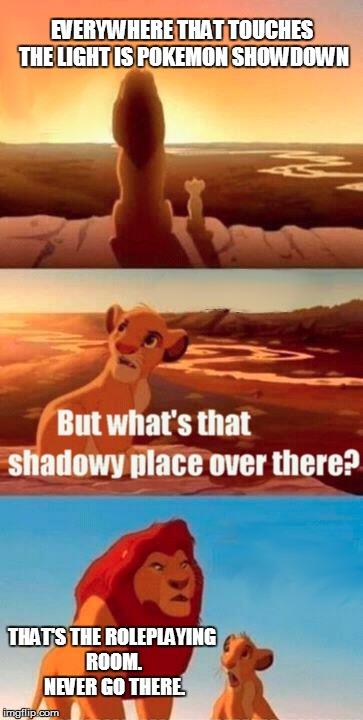 Simba Shadowy Place Meme Imgflip