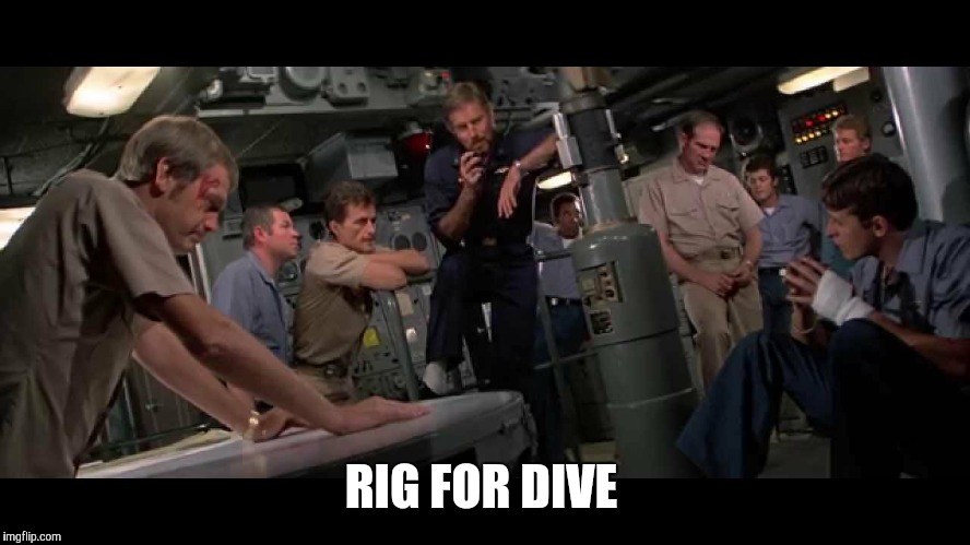 RIG FOR DIVE | made w/ Imgflip meme maker