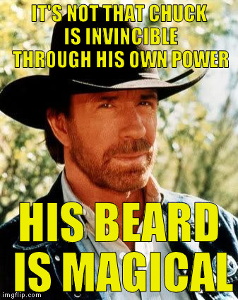 """If I be shaven, then my strength will go from me, and I shall become weak, and be like any other man."" 