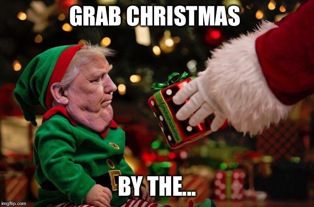 1fbwei grab christmas by the imgflip,Trump Christmas Meme