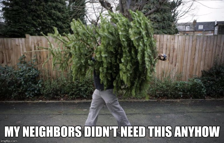 MY NEIGHBORS DIDN'T NEED THIS ANYHOW | made w/ Imgflip meme maker