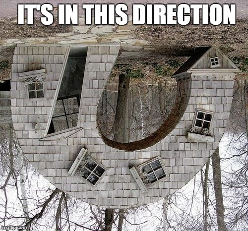 IT'S IN THIS DIRECTION | made w/ Imgflip meme maker