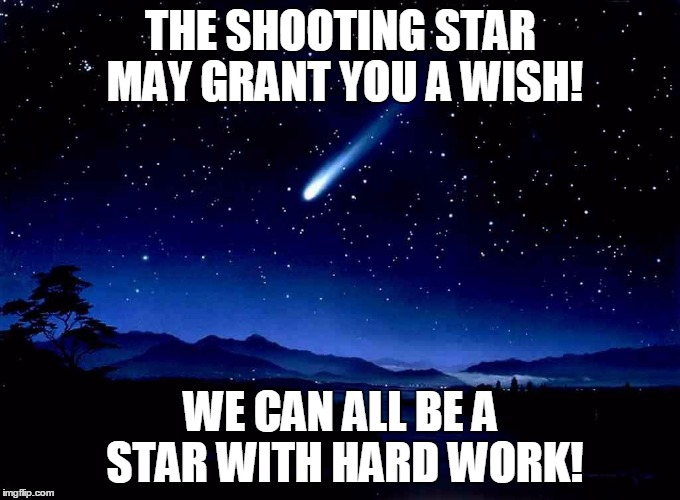 How shooting stars work — pic 1