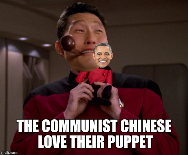 THE COMMUNIST CHINESE LOVE THEIR PUPPET | made w/ Imgflip meme maker