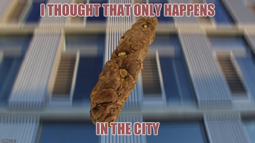 I THOUGHT THAT ONLY HAPPENS IN THE CITY | made w/ Imgflip meme maker