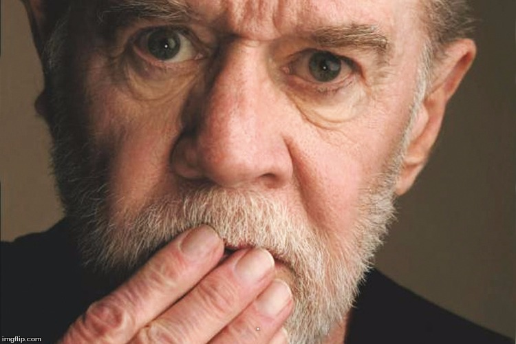 George Carlin | . | image tagged in george carlin | made w/ Imgflip meme maker