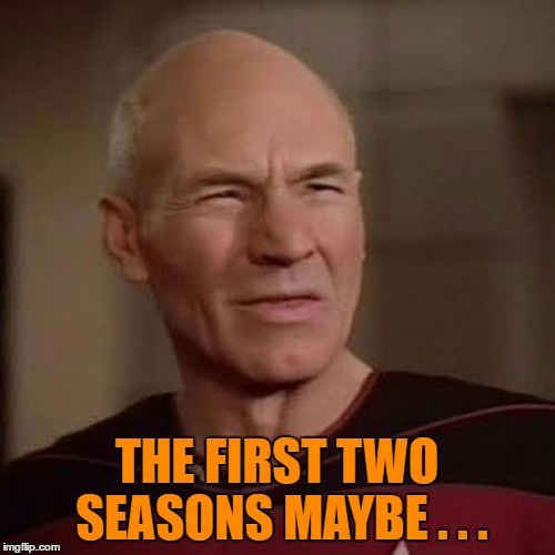 THE FIRST TWO SEASONS MAYBE . . . | made w/ Imgflip meme maker