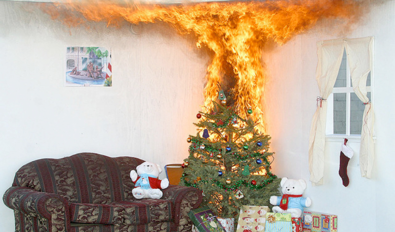 Christmas Tree On Fire.Christmas Tree On Fire Blank Template Imgflip