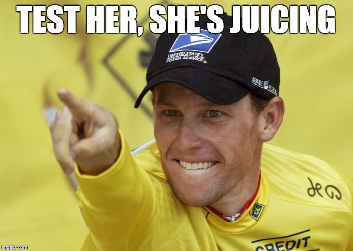 TEST HER, SHE'S JUICING | made w/ Imgflip meme maker