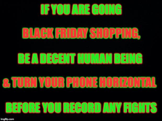 Black Friday Shopping - Imgflip