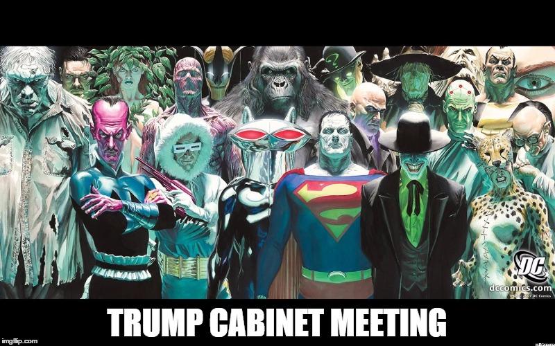 Trump Cabinet Meeting - Imgflip