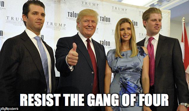 1fml42 the trump family imgflip,Trump Family Meme