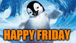 Happy Friday Penguin - Imgflip