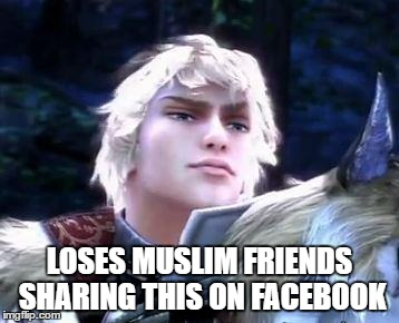 smugtroklos | LOSES MUSLIM FRIENDS SHARING THIS ON FACEBOOK | image tagged in smugtroklos | made w/ Imgflip meme maker