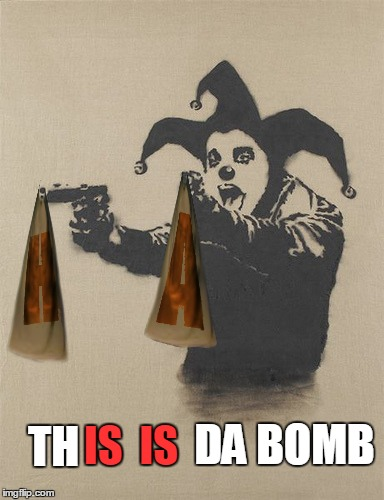 IS  IS TH DA BOMB | made w/ Imgflip meme maker