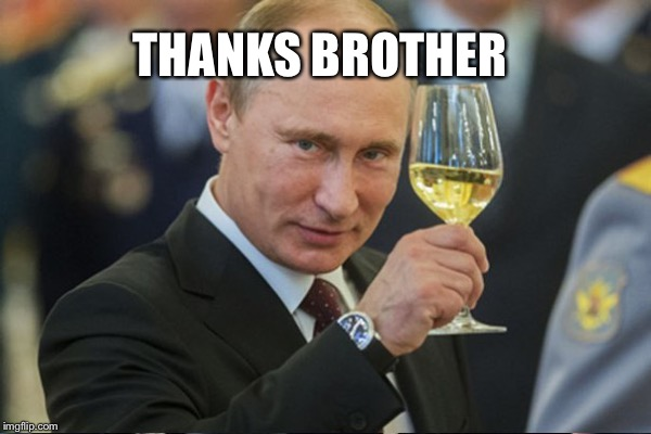 THANKS BROTHER | made w/ Imgflip meme maker