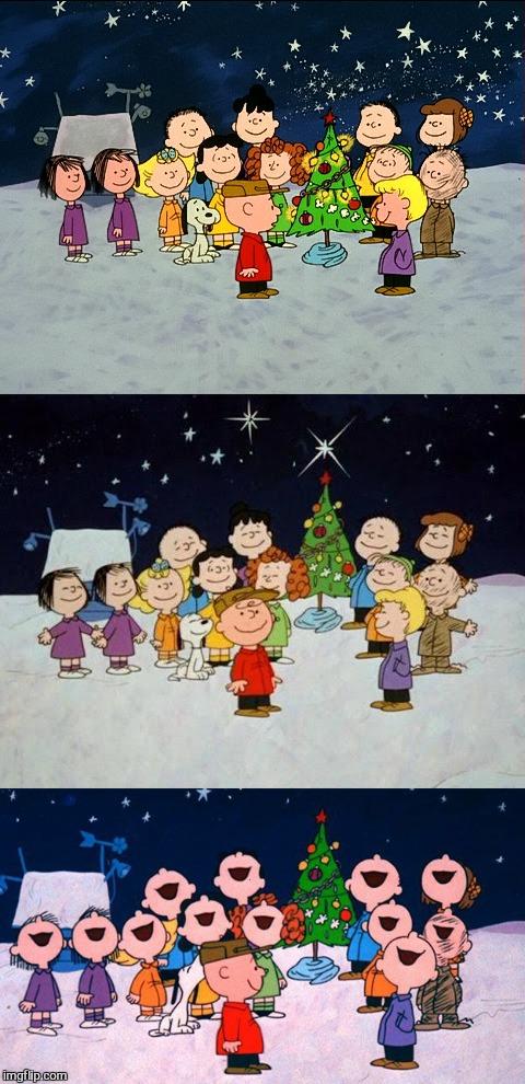A Charlie Brown Christmas Pun Blank