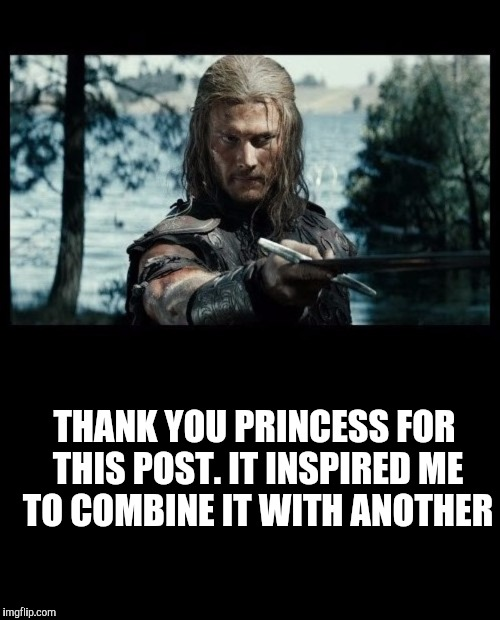 Viking swordsman | THANK YOU PRINCESS FOR THIS POST. IT INSPIRED ME TO COMBINE IT WITH ANOTHER | image tagged in viking swordsman | made w/ Imgflip meme maker