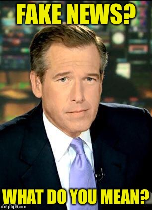 Brian Williams Was There 3 | FAKE NEWS? WHAT DO YOU MEAN? | image tagged in memes,brian williams was there 3 | made w/ Imgflip meme maker