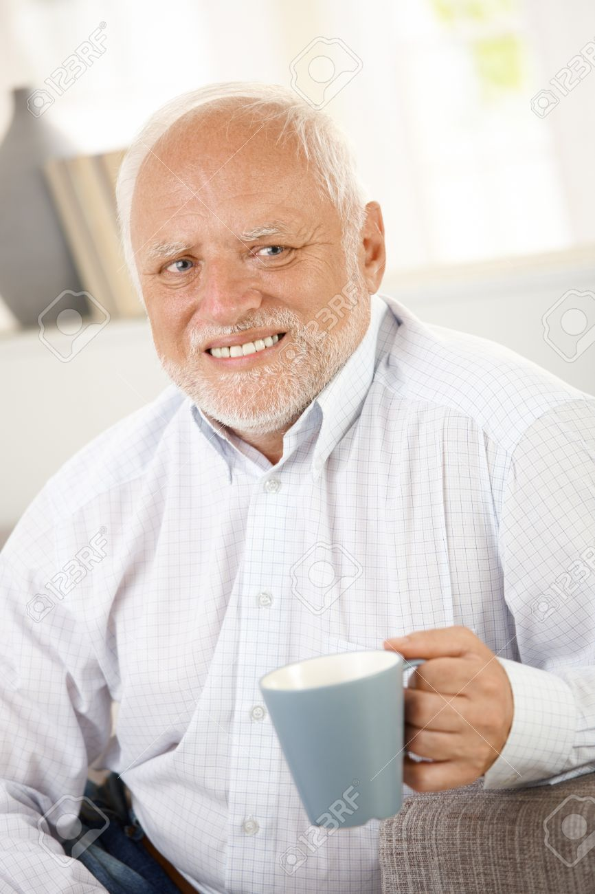 Happy and sad old man Blank Template - Imgflip