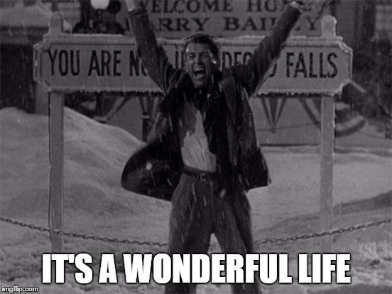IT'S A WONDERFUL LIFE | made w/ Imgflip meme maker