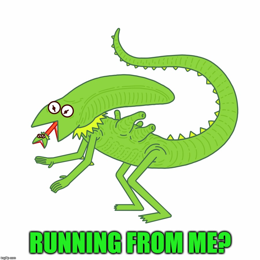 RUNNING FROM ME? | made w/ Imgflip meme maker
