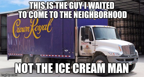 THIS IS THE GUY I WAITED TO COME TO THE NEIGHBORHOOD NOT THE ICE CREAM MAN | made w/ Imgflip meme maker