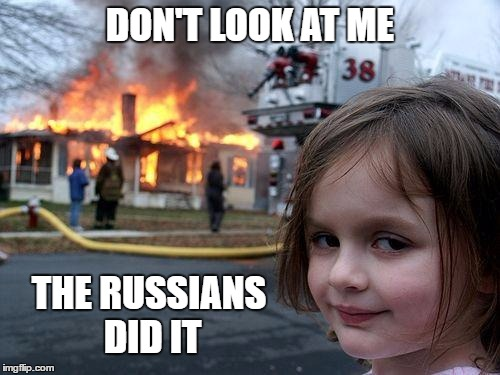 1fvxbx democrat deflection imgflip,Russians Did It Meme