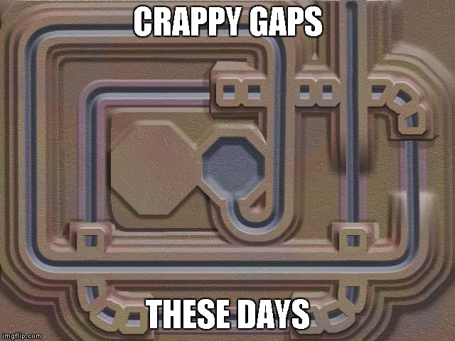 CRAPPY GAPS THESE DAYS | made w/ Imgflip meme maker
