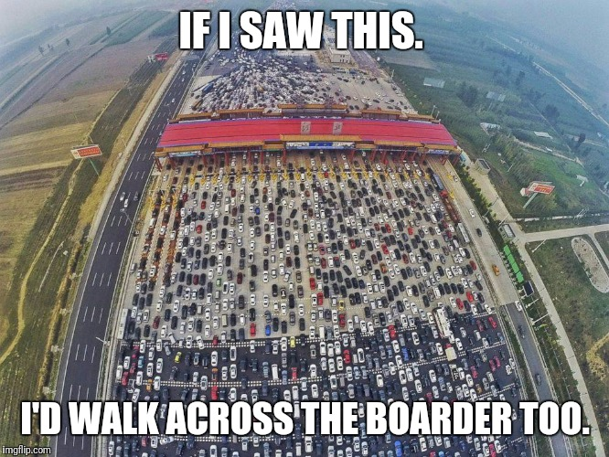 cars | IF I SAW THIS. I'D WALK ACROSS THE BOARDER TOO. | image tagged in cars | made w/ Imgflip meme maker